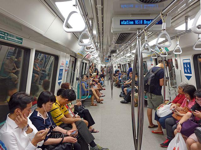 Singapore, Train, Mass Rapid Transit, Mrt