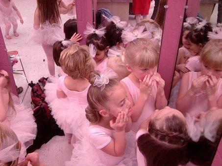 Ballerina, Dance, Tutu, Pink, Ballet, Girls