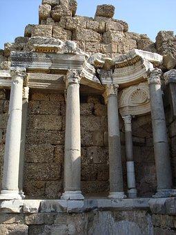 Antiquity, Ruin, Pillar, Classical Architecture, Greece