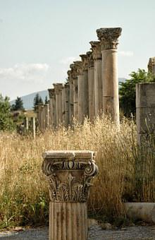 Ruins, Remains, Ephesus, Greek City, Asia Minor, Temple