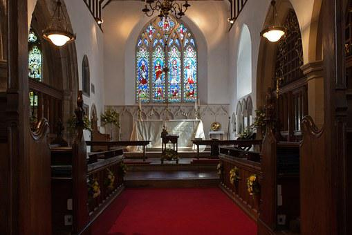St Giles And All Saints, Church, Anglican, Altar