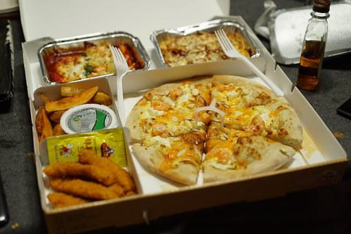 Pizza, Food, Delivery, Dining, Set Menu, Nugget
