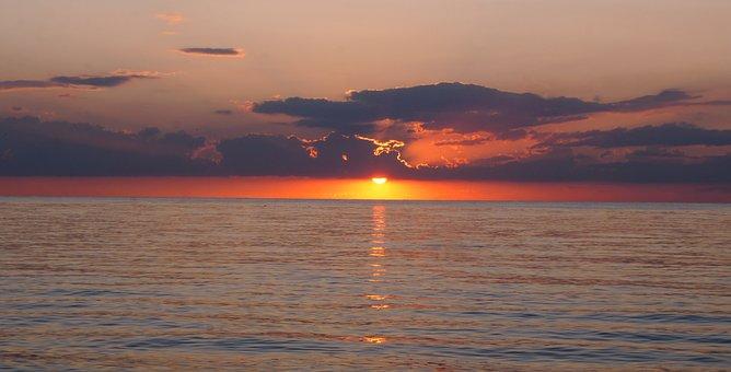 Crimea, Sea Of azov, Vacation, Beach, Sunset, Summer