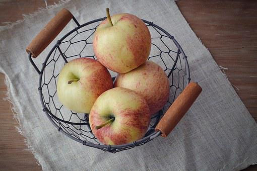 Apple, Bio Apple, Natural Product, Basket, East Basket