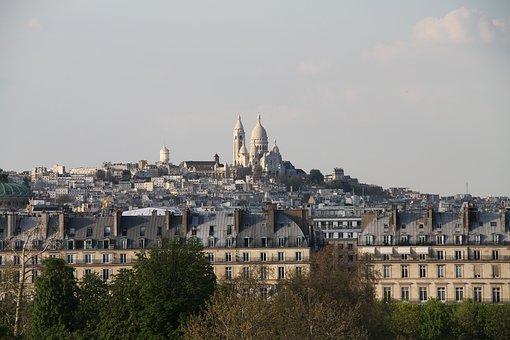Paris, Sacred Heart, Basilica, Skyline, Tourism