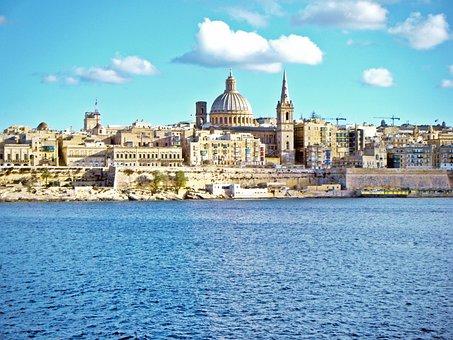 Valletta, Malta, Capital, City, Mediterranean