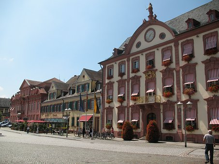 Hotel, Offenburch, Germany, Architecture, Vacation