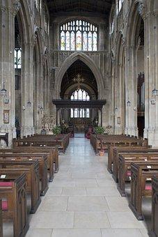 Cirencester, Uk, Interior, St John The Baptist Church