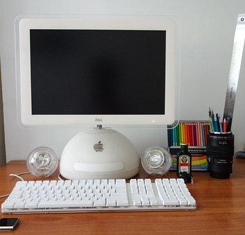 Computer, Imac, Graphic Design, Pismacolor, G4, Monitor