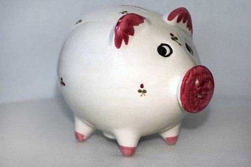 Piggy Bank, Money, Save, Coins, Euro, Cent, Seem