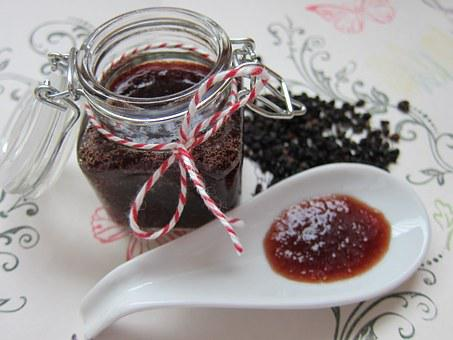 Elderberry Marmalade, Jam, Marmalade, Jelly, Breakfast