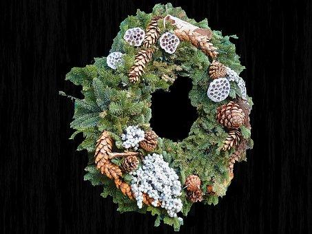 Wreath, Door Wreath, Decoration, Flowers, Tap, Nature