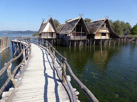 Stilt Houses, Lake Constance, Unteruhldingen