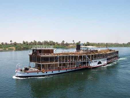 Nile, Egypt, River, Water, Nature, Ship, Cruise