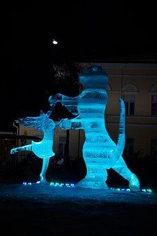 An Ice Sculpture, Jääfestivaali, Jäätaide