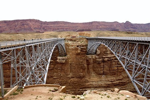 Bridges, Marble Canyon, Arch, Engineering, Desert