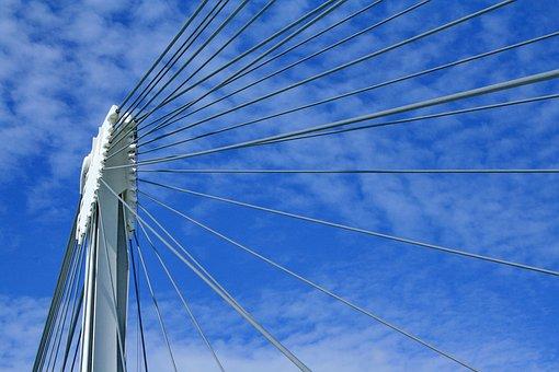 Bridge, Bridge Construction, Suspension Bridge