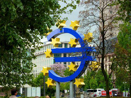 Frankfurt, Euro, Bank, Building, Finance, Currency