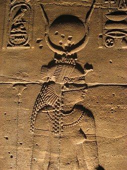 Temple Of Isis, Philae Island, Aswan, Egypt, Edfu, Nile
