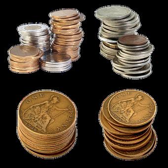 Penny, Coins, Cash Money, Finances, Bank, Money, Income