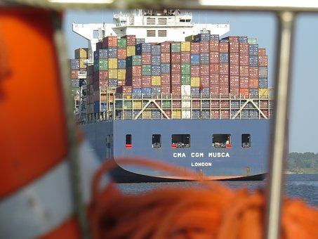 Container, Cargo, Maritime, Shipping, Romance