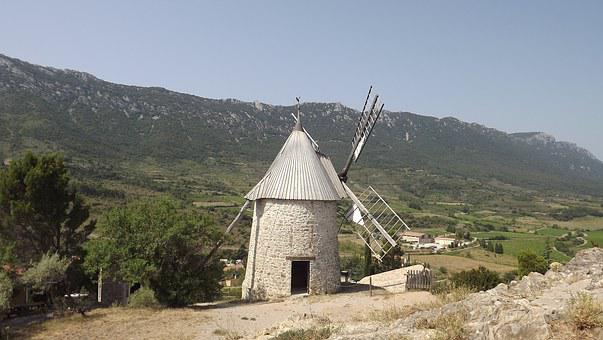 Mill, Aude, Landscape, Cathar, Cathar Country