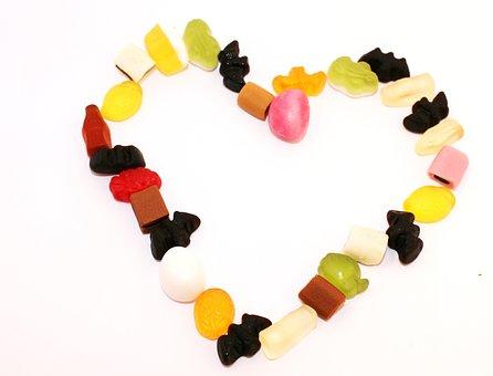 Heart, Sweetness, Form, Love, Delicious, Sweet