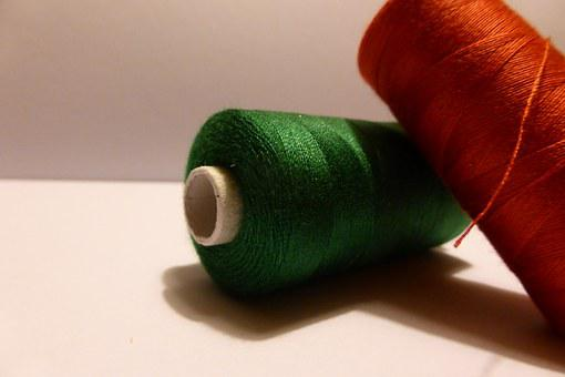 Bobbin, Role, Thread, Sew, Hand Labor, Sewing Thread