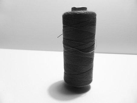 Bobbin, Role, Thread, Sew, Hand Labor, Sewing Thread