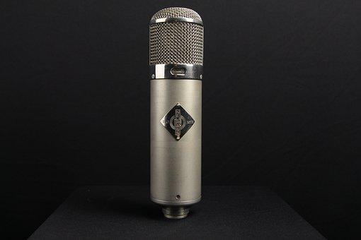 Microphone, Vintage, Retro Recording, Neumann, U47