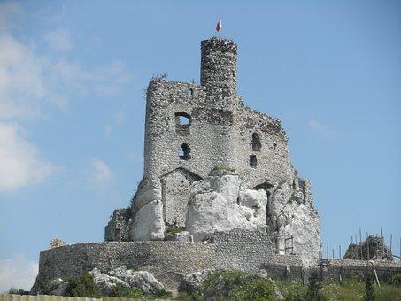 Castle, History, Monument, Stone, Building