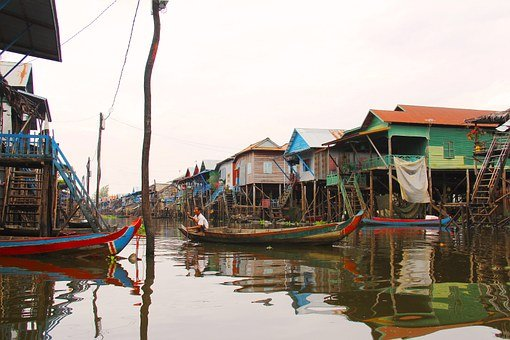 Kompong Phluk Kompong, Tour, Village, Floating