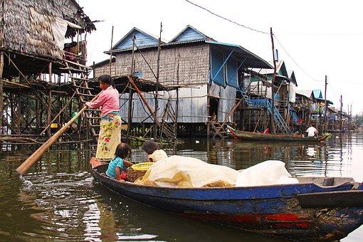 Kompong Phluk Kompong, Tour, Village, Floating