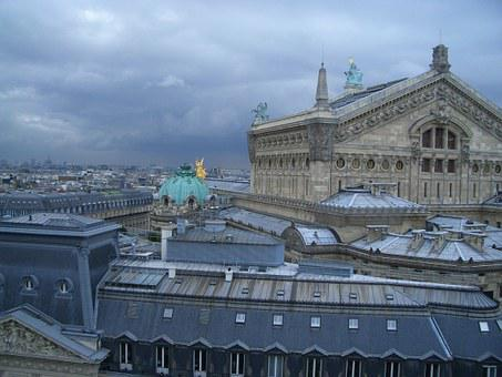 Paris, Opera, Building, View, Travel, France