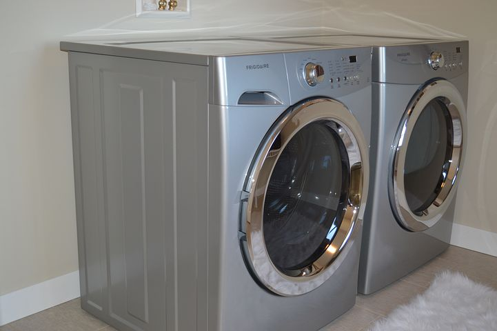 Washing Machine, Dryer, Appliances, Laundry, Housework