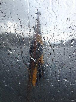 Swedish Flag, Rain, Archipelago, Chapel, Boat, Water