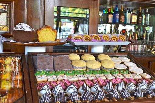 Pastries, Sweet, Desert, Bakery, Cafe, Pastry, Shop