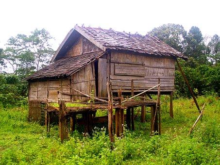 Pile Dwelling, Crannog, Stilt Houses, Hut, Cabin