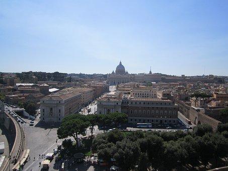 Rome, Italy, Vatican, Castello, Castello Sant Angelo