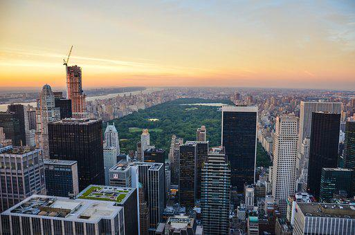 New York City, New York, Nyc, Manhattan, Skyscraper