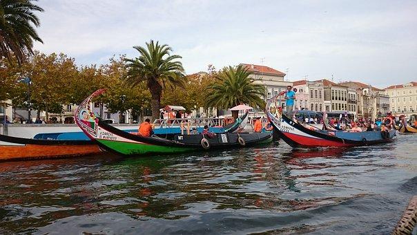 Portugal, Aveiro, Europe, Travel, Outdoor, Traditional