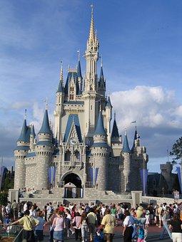 Disney World, Magic Kingdom, Building, Orlando, Florida