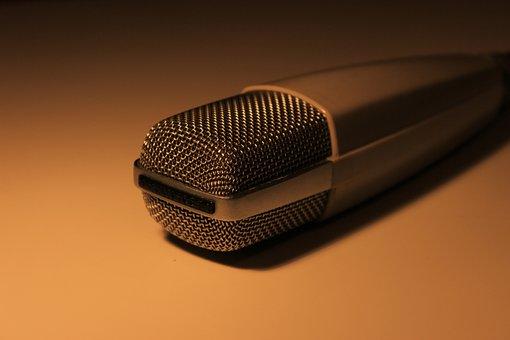 Microphone, Sennheiser, Vintage, Md 421, Sing, 80s, Old