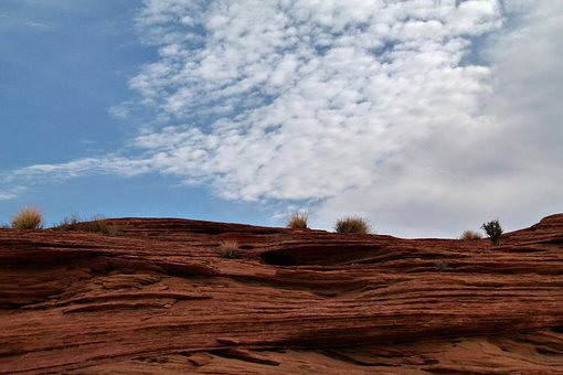 Glen Canyon, Red, Rocks, Arizona, Usa, Desert, Erosion