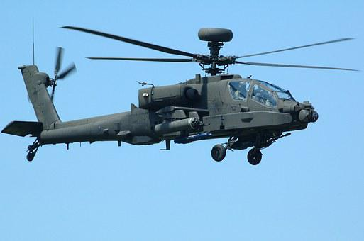 Apache, Helicopter, Military, Aircraft, Flight