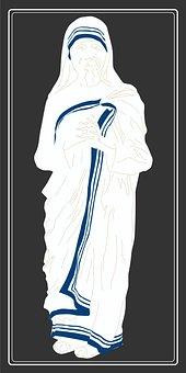 Saint Teresa Of Calcutta, Roman Catholic Nun, Indian