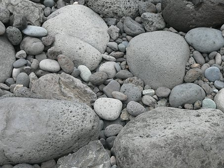 Pebbles, Rocks, Stones, Natural, Boulder, Eroded
