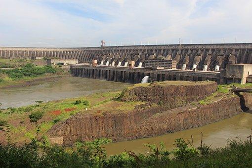 Itaipu, Foz De Iguaçu, Hydroelectric Power Plant
