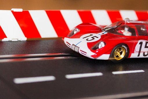 Racing Car, Racecourse, Carrera, Slot Car