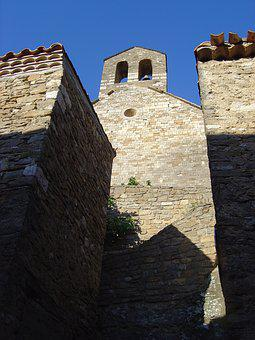 Church, South Of France, Minerva, Pierre, Village